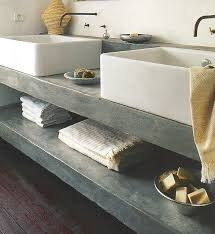 Best  Concrete Countertops Bathroom Ideas On Pinterest - Bathroom countertop design