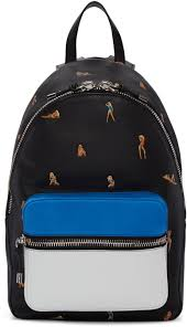 alexander wang black leather berkeley backpack men
