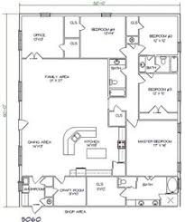 Building Home Floor Plans 40x60 Barndominium Floor Plans Google Search House Plans