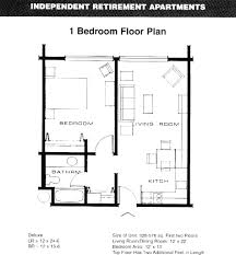 guest house floor plans simple 1 bedroom basement apartment floor plans endearing modern