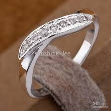 silver nice rings images 2013 new style 925 silver fancy generous clear diamond rings jpg