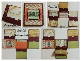 Magnetic Photo Album Multi Fold Handmade Photo Album 7 Steps