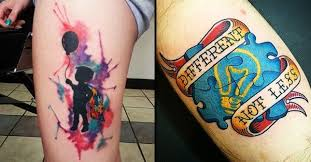 17 touching autism inspired tattoos tattoodo