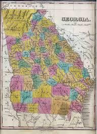 Maps Of Georgia Old Maps Of Georgia And Jasper County