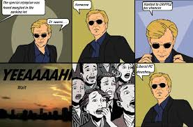 Horatio Caine Meme - csi 4 pane comics image gallery sorted by low score know your meme