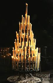 lourdes grotto candles photograph by carol groenen