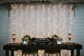 tulle backdrop wedding backdrop with tulle and lights oosile