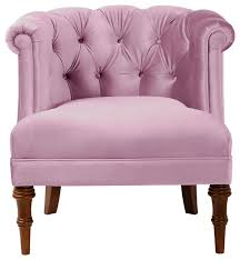 Pink Accent Chair Katherine Tufted Accent Chair Armchairs And Accent Chairs By