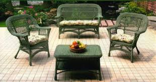 how to clean your resin wicker furniture