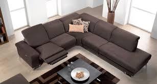 canap relax 3 places tissu canap tissu ub design eros 2 places 2 relax lectriques marron avec