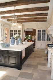 19 two tone kitchen cabinet doors rustic wood beams cottage