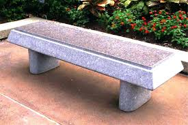 concrete table and benches price curved cement bench concrete garden benches outdoor modern in and