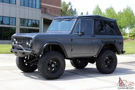1970 ford bronco in satin gunmetal grey paint love it c a n