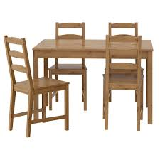 Glass Dining Table Set 4 Chairs Chair Glamorous Jokkmokk Table And 4 Chairs Ikea Chair Dining