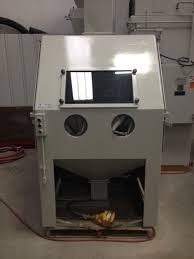 Used Blast Cabinet Fintec Metal Finishing Technology Blast Cleaning Equipment