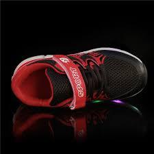 heelys light up shoes kids led light up heelys wheels shoes black varsity red white sale