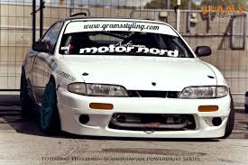nissan zenki s14 rocket bunny style bodykit gramsstyling co uk