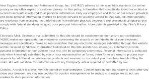 Privacy Policy Neirg Privacy Policy
