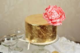 where to buy edible gold leaf how to apply edible gold leaf to cakes on craftsy