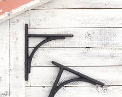 Wall Brackets For Shelving by Shelf Brackets Etsy