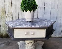 white end table etsy
