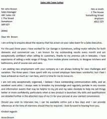 how to write a cover letter for sales jobs lettercv com