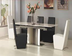 furniture marvelous black and white dining room sets with