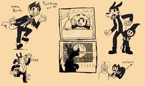 batim random sketches by crystalchan2d on deviantart