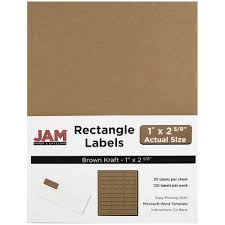 jam paper mailing address labels small 1 x 2 5 8