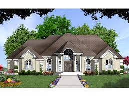 telemark stucco luxury home plan 030d 0058 house plans and more