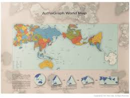 Labeled World Map by Authagraph World Map Alexcious Products Alexcious