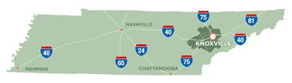 Oak Ridge Tennessee Map by Locator Maps Knoxville Oak Ridge Innovation Valley