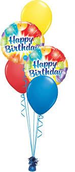 birthday balloon arrangements happy birthday balloon bouquet in lima oh yazel s flowers gifts