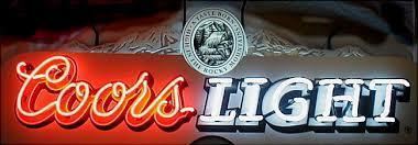 coors light bar sign neon coors light beer sign by traetonstock on deviantart