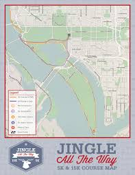Nj Path Map Jingle All The Way 5k Course Map Pacers Running