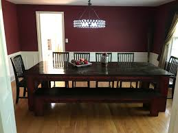 dining room rough country rustic furniture antiqued 8 piece dining set