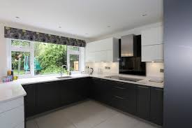 Colour Designs For Kitchens by Kitchen Colour Schemes Black Accents All Around The Kitchen