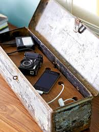 Diy Charging Stations Remodelaholic Get Rid Of Cord Clutter With These 25 Diy Charging