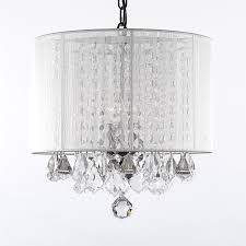 Mini Shade Chandelier Crystal Chandeliers For Bedrooms Lightings And Lamps Ideas