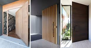 Wooden Doors Design These 13 Sophisticated Modern Wood Door Designs Add A Warm Welcome