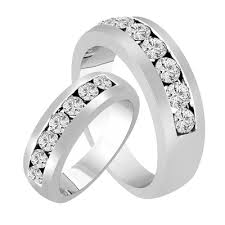 his and hers wedding bands his hers wedding rings diamond matching bands wedding