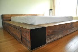 Low Profile Bed Frame King Low Profile King Bed Frame Smartwedding Co