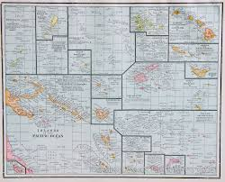Map Of Pacific Ocean Map Of Islands Of The Pacific Ocean 1887