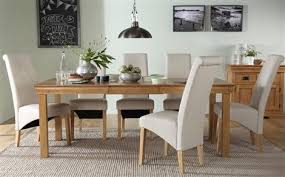 Oak Extending Dining Table And 8 Chairs Dining Table 8 Chairs Furniture Choice