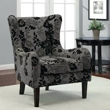 Black Accent Chairs For Living Room Black Wing Chair Chairs Floral Accent Chairs Floral Chair Floral