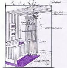 plan chambre enfant faire un plan de chambre de bebe visuel 7
