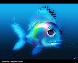 Pretty Blue Wallpapers by Free 3d Wallpaper Pretty Fish Wallpaper Free 3d Hd Desktop