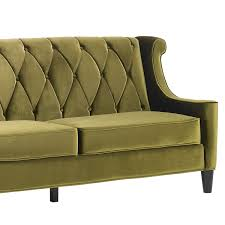 decor gorgeous attractive green chesterfield sofa grey velvet and