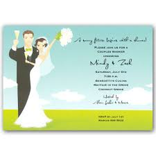 Couple S Shower Invitations Bride And Groom Couples Shower Invitations Clearance Paperstyle