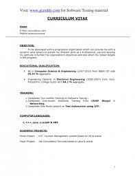 Elegant Resume Examples by The Elegant Resume For Computer Engineering Resume Format Web